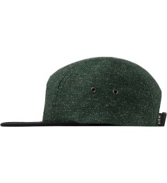 HUF Hunter Green Tweed Volley Cap Model Picture