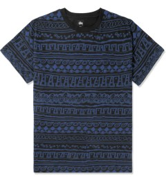 Stussy Black Tom Tom S/S Crewneck T-Shirt Picture