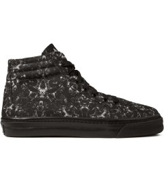 Marcelo Burlon Black Snake Print Allover Hi Top Sneakers Picture