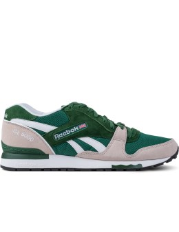 Reebok Dark Green/Moon White/White M46406 GL 6000 Shoes Picture