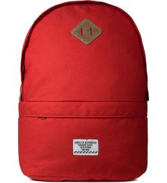 "Bedwin & The Heartbreakers Red ""WAFFLE"" Day Pack Picture"