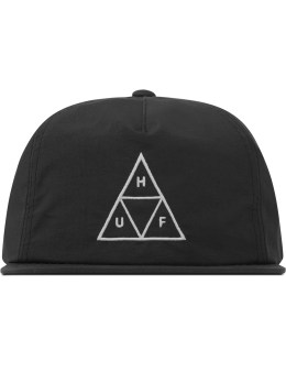 HUF Black Triple Triangle Snapback  Picture