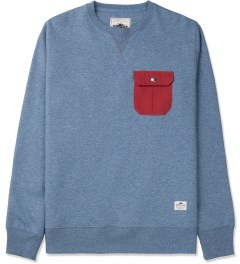 Penfield Petrol Melange Coalmont Crewneck Sweater Picture