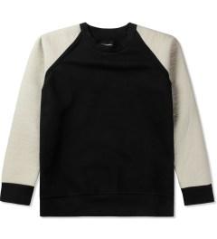 Christopher Raeburn Black/Cream Tech Raglan Sweater Picutre