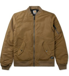 Carhartt WORK IN PROGRESS Hamilton Brown Ashton Bomber Jacket Picutre