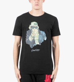 Grand Scheme Black Uncle Sam T-Shirt Model Picutre