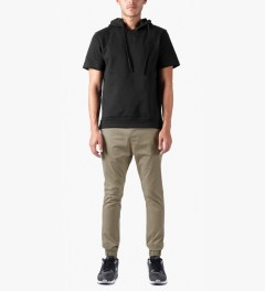 ZANEROBE Tan Dropshot Pants Model Picutre