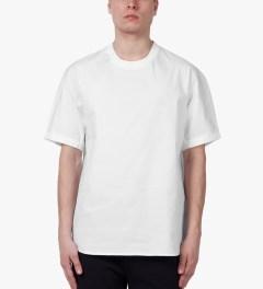 3.1 Phillip Lim White S/S Dolman T-Shirt Model Picutre