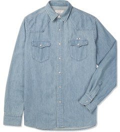Maison Kitsune Used Western Shirt Picture