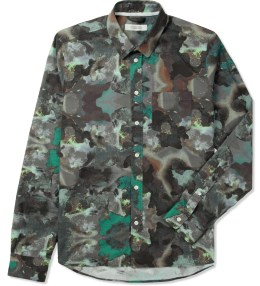 Uniforms for the Dedicated Dark Multicolored Paint Splash All-Over Print Nantes Classic Shirt Picture