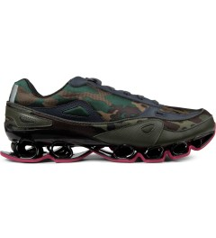 adidas Originals Pink/Camo Raf Simons x Adidas Bounce Sneakers Picture