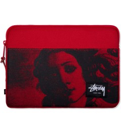 Stussy Red World Tour iPad Sleeve Picture