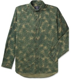 Grand Scheme Green Palm Camo Shirt Picutre