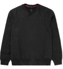 Surface to Air Black Assen Crewneck Sweater Picture