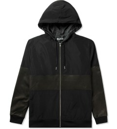 Blood Brother Black Slice Zip Through Jacket Picture