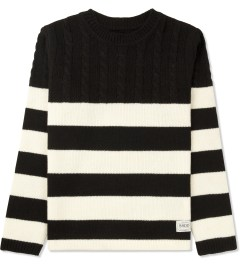FUCT SSDD White/Black Cable Knit Sweater Picture