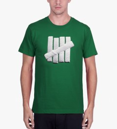Undefeated Green Embroidery Strike T-Shirt Model Picutre
