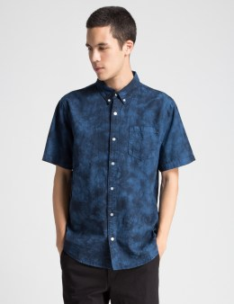 HUF Indigo Cayo Co Co S/S Shirt Picture