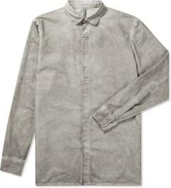 SILENT Damir Doma Grey Serin Basic Shirt Picutre