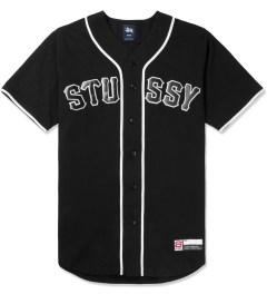 Stussy Black Stussy Baseball Jersey Picutre