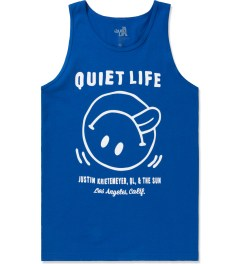 The Quiet Life Royal Blue Fun Tank Top Picture