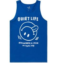 The Quiet Life Royal Blue Fun Tank Top Picutre