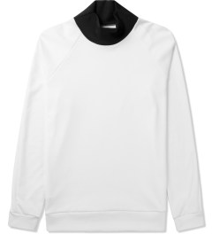 Kunz by Nicklas Kunz White/Black Athletic Turtle Neck Shirt Picutre