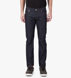 A.P.C. Indigo Petit Standard Jeans Model Picture