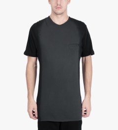 SILENT Damir Doma Black Toral T-Shirt Model Picutre
