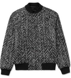 KRISVANASSCHE Black Varsity Jacket Picutre