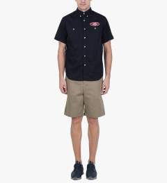 FTC Beige Chino Shorts Model Picture