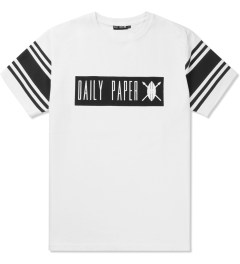 Daily Paper White Box Logo T-Shirt Picture