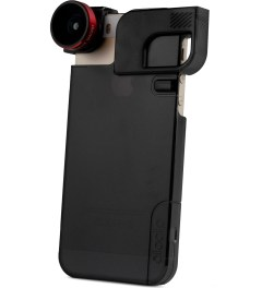 olloclip Red Lens/Black Clip and Black Case olloclip iPhone 5/5s: 4 in 1 Lens + Quick Flip Case Picture