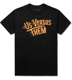 Us Versus Them Black Workshop T-Shirt Picture