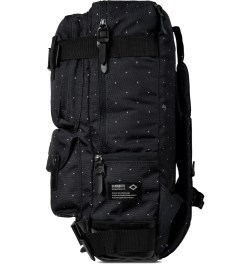 BLC Black Dot Print Definition Backpack Model Picture