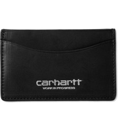 Carhartt WORK IN PROGRESS Black Edwards Wallet Model Picture