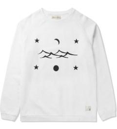 Libertine-Libertine White/Black Grill Space Sweatshirt Picture