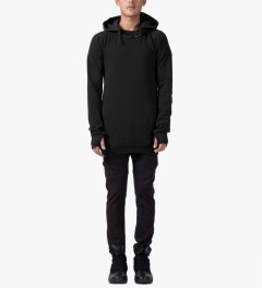 11 By Boris Bidjan Saberi Black H-1 F-1201 Pullover Jacket Model Picutre
