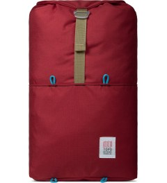 TOPO DESIGNS Red Trail Backpack Picture
