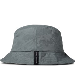 Raised by Wolves Silver Reflective Digital Camo Petawawa Boonie Hat Model Picutre