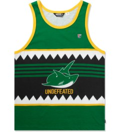 Undefeated Green Jaw Tank Top Picutre