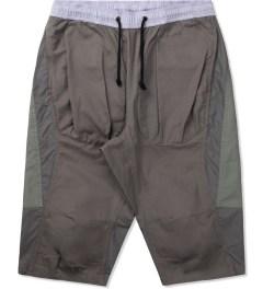 CLOT Lavender/Grey Tonal Panel Shorts Picutre