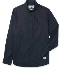 Penfield Navy Lumsden Collarless Overshirt Picture