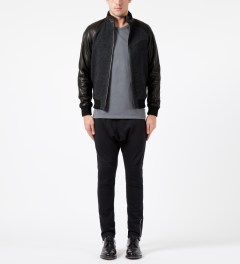 Surface to Air Black/Navy Sven Jacket Model Picture