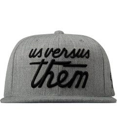 Us Versus Them Heather Grey Magnum FA14 Cap Picture