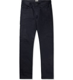 Naked & Famous Indigo/Black Elephant 4 Weird Guy Jeans Picture