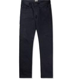 Naked & Famous Indigo/Black Elephant 4 Weird Guy Jeans Picture