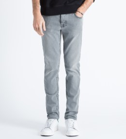 Nudie Jeans Light Indigo Pale Lead Grim Tim Jeans Picture