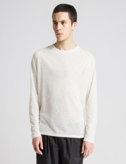 HALO White Cadet L/S T-Shirt Picture