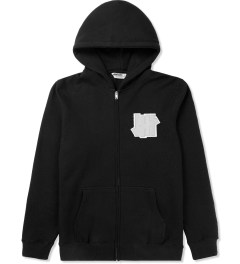 Undefeated Black Double 5 Strike App Zip Up Jacket Picture